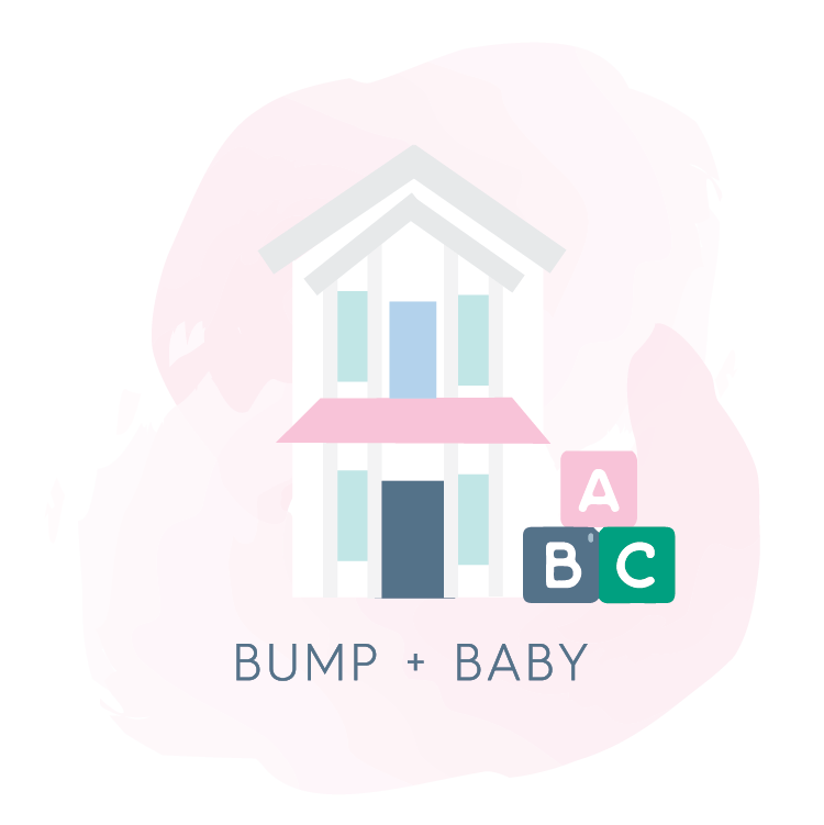 Seaside Style Store Icons - Bump + Baby in Seaside FL