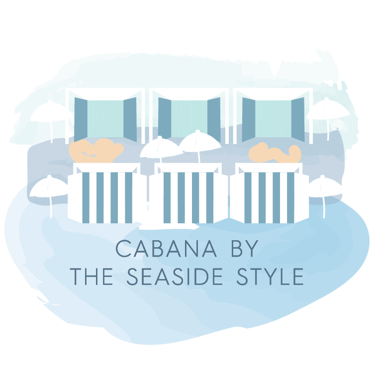 Seaside Style Store Icons - Cabana  in Seaside FL