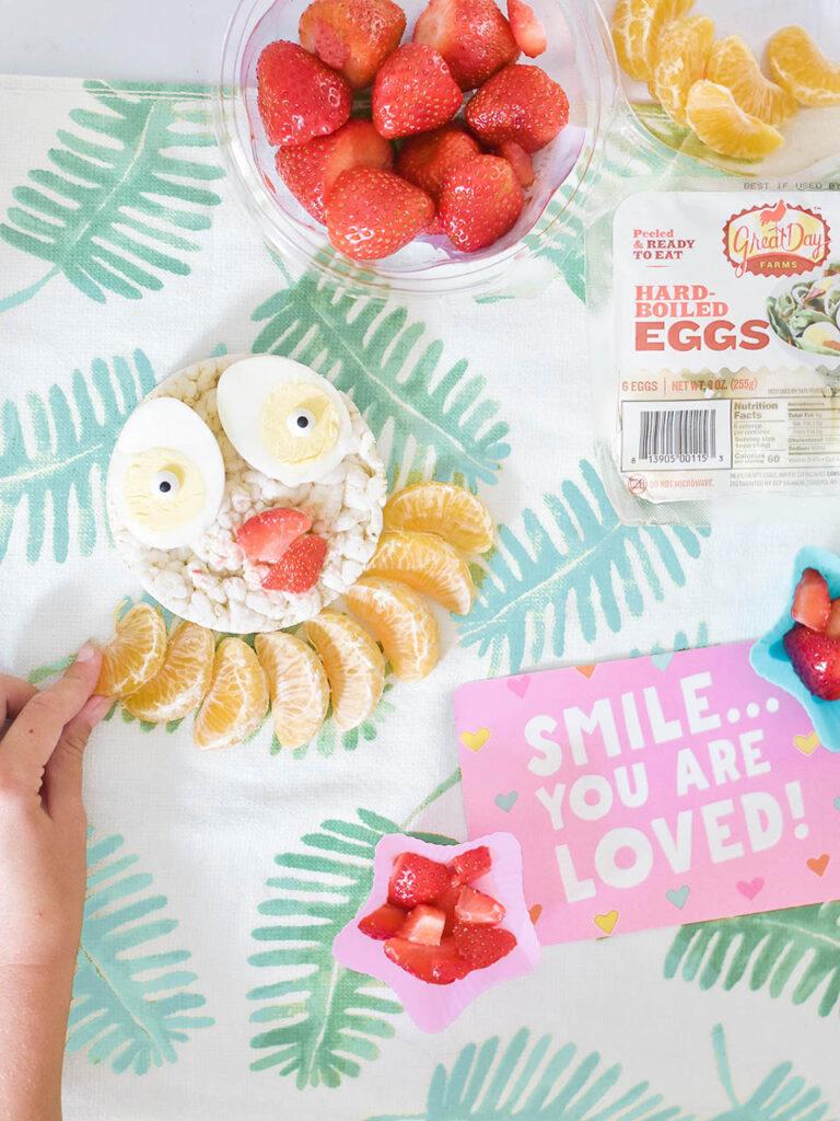 School Lunch Ideas - Boiled Eggs w Great Day Farms